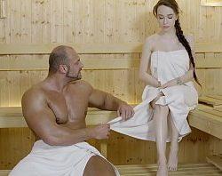 Cojiendo en sauna rusa puta